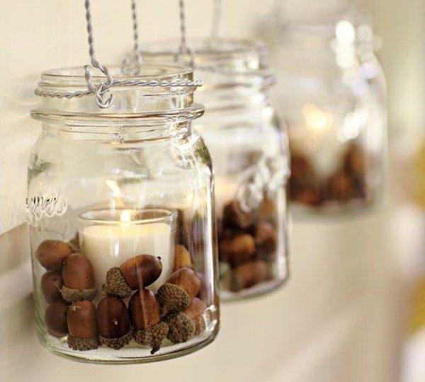 deco-automne-diy-glands-idees-pots-glands-bougies